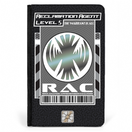 RAC Reclamation Agent Faux Leather Killjoys Inspired Passport Cover